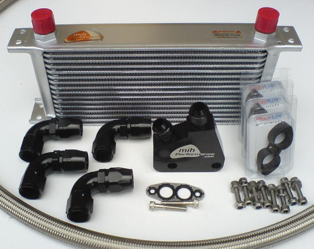 Engine Oil Cooler : Ls chevy v engine oil cooler kit billet take off